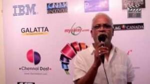 Charu Nivedita inaugurates the Chennai Rainbow LGBT film festival, 2013